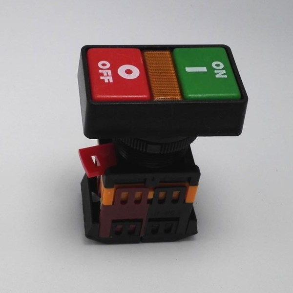 2 Selectors Momentary Rectangle Push Button Switch On And Off