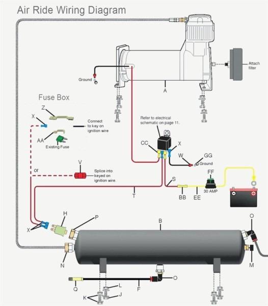 12v Air Compressor Wiring Diagram