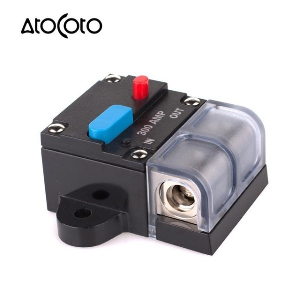 300a 0 4 Gauge Awg Wire Circuit Breaker Auto Car Boat Marine