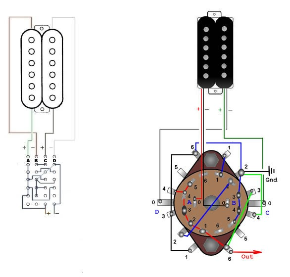 3 Pole Rotary Switch Wiring Diagram