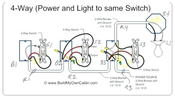 4 Way Dimmer Wiring Diagram