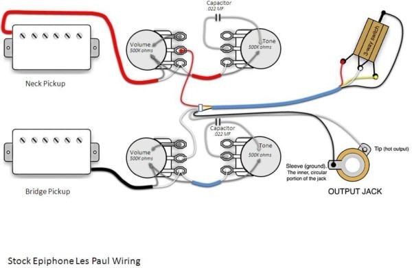 50s Wiring Diagram Les Paul
