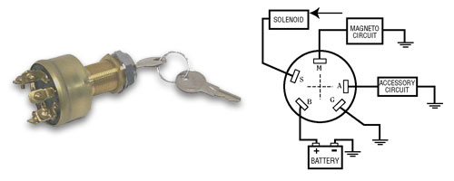 5 Wire Ignition Switch Wiring Diagram