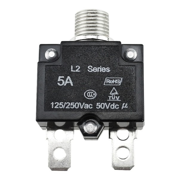 5a 10a 15a 20a 30amp Push Button Resettable Thermal Circuit