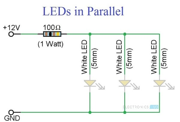 5mm 12v Led Wiring Diagram