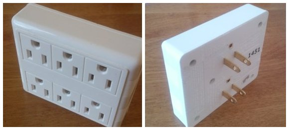 6 Outlet Wall Plug Hack