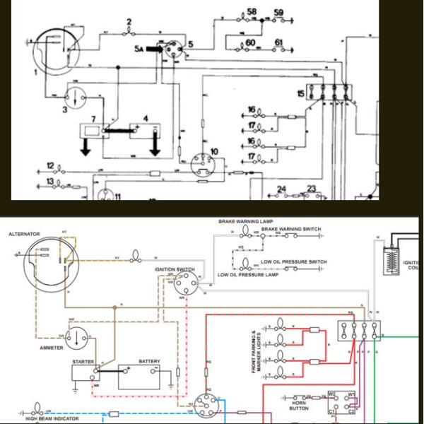 74 Tr6 Wiring Diagram