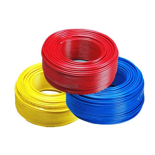 90 Meter Red, Blue And Yellow House Wiring Electrical Cable, Rs