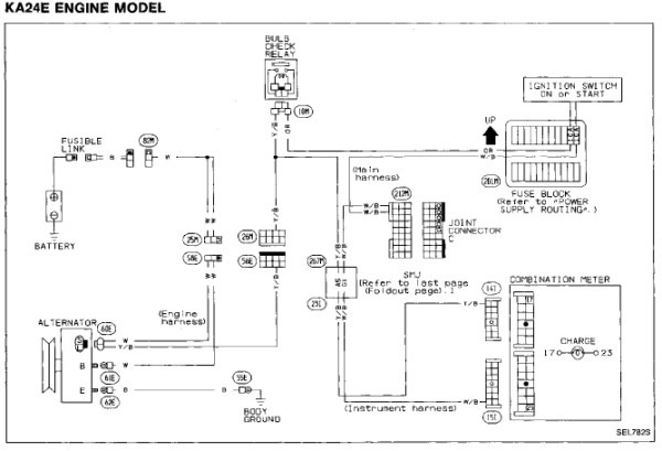 95 Nissan Pickup Wiring Diagram