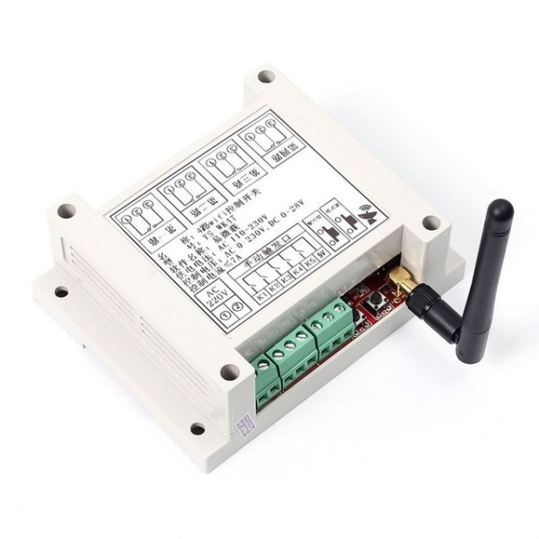 Ac 110v 230v Wifi Relay Switch Multi Channel Mobile Phone Remote