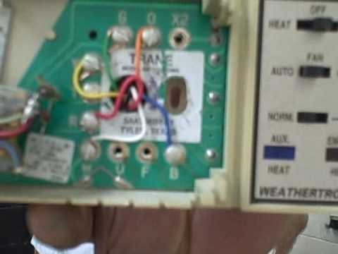Air Conditioning Repair Tips How To Change A Heat Pump Thermostat