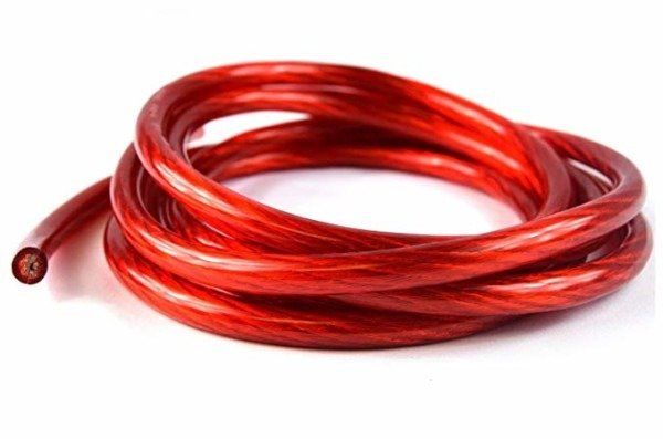 Amazon Com  10 Ft 4 Ga Red Wire Cable Power Ground Primary Amp