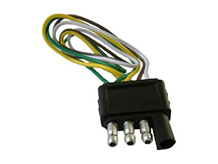 Amazon Com  4 Pin (pole) Flat Trailer Wiring Harness Kit  Kitchen
