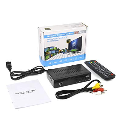 Amazon Com  Digital Tv Converter Full Hd Atsc Ota Signal Receiver