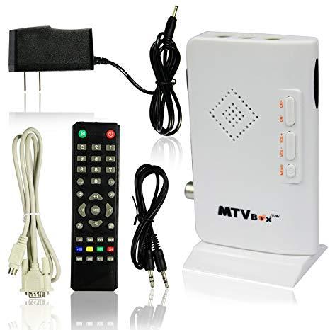 Amazon Com  Esumic  Digital Tv Box Lcd Crt Vga Av Stick Tuner Box