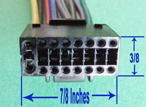 Amazon Com  Kenwood Car Stereo Head Unit Replacement Wiring