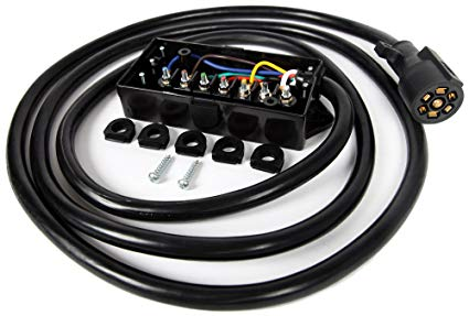 7 Way Trailer Wiring Harness Kit