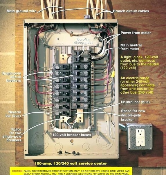 Amp Breaker Box Diagram Nothing Found For Main Com Circuit Wiring