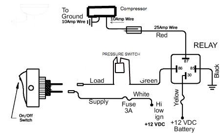 Arb Air Compressor Wiring Diagram