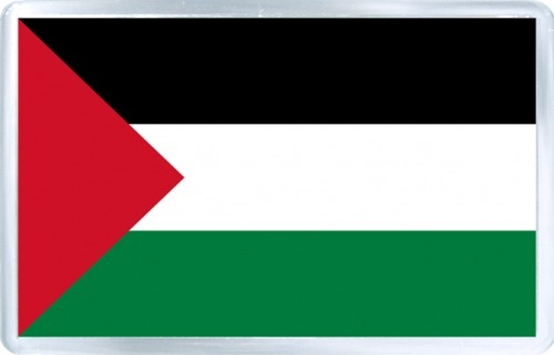 At The Un, Palestinian Raise Their Flag – Red