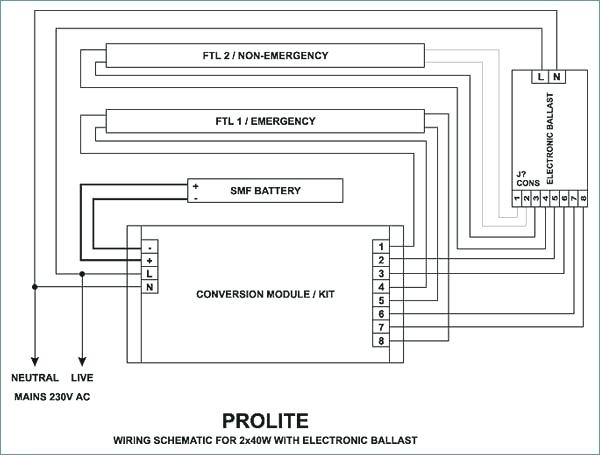 Tridonic Ballast Wiring Diagram