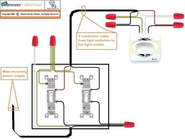 Bathroom Fan Wiring Diagram