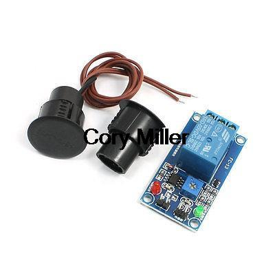 Black Reed Door Contact Switch Magnetic Switch Sensor Relay Module