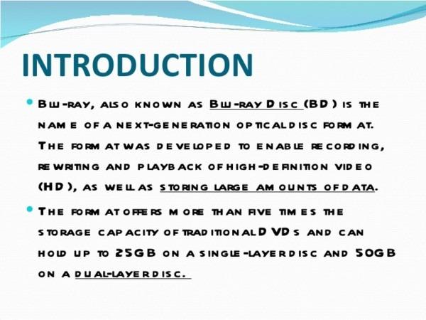Blu Ray Technology Pdf Download