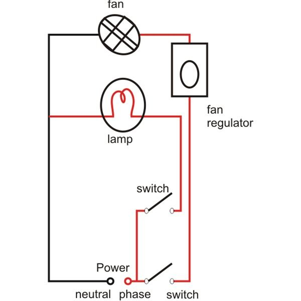 Bulb Wiring Diagram Conducting Electrical House Wiring Easy Tips