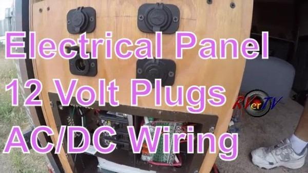 Cargo Trailer Conversionelectrical Wiring 12 Volt Plugsac