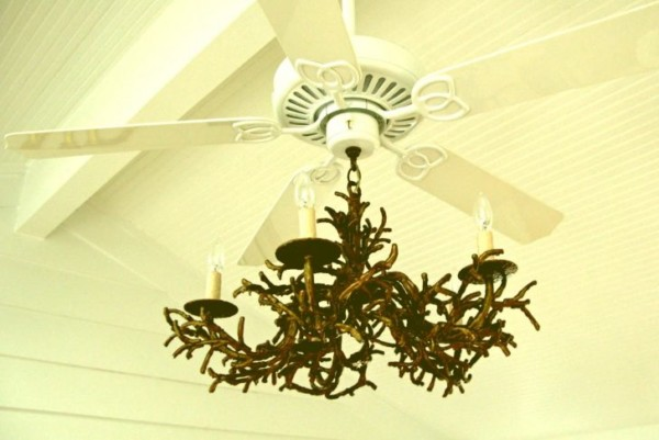 Chandelier With Ceiling Fan Attached Ceiling Fans How Do I Install