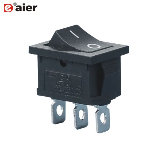 China 6a 3 Pin On On 2 Way Rocker Switch Spdt