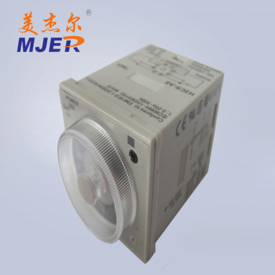 China 8 Poles Electronic Automotive Off Delay Time Relay Timer