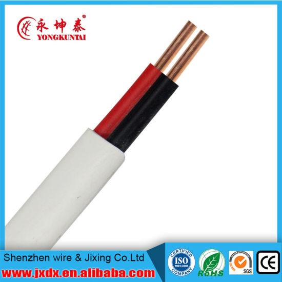 China Best Price Pvc Flexible House Wiring Electrical Cable Twin