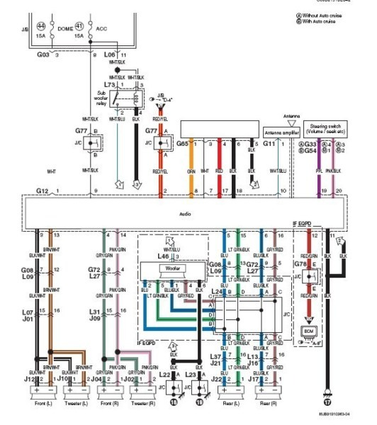 Clarion Stereo Wiring Diagram Suzuki Grand Vitara