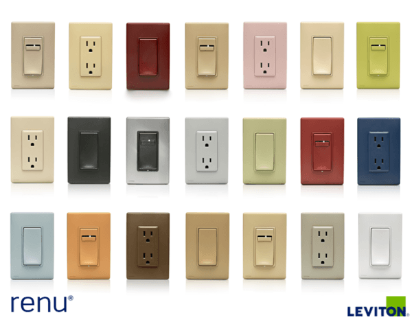 Electrical Receptacle Colors