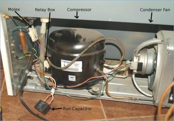 Wiring Diagram For Whirlpool Refrigerator