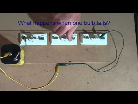 Connecting Light Bulbs In Series Current