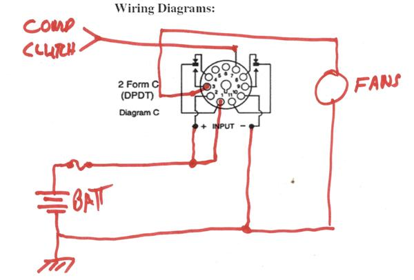 11 Pin Relay Wiring