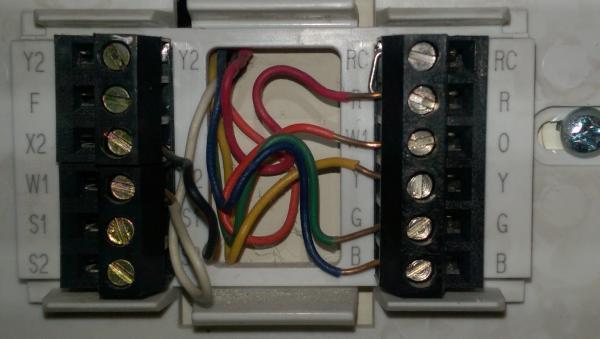 D Wiring Trane Xl Thermostat Existing Thermostat Wiring Trane