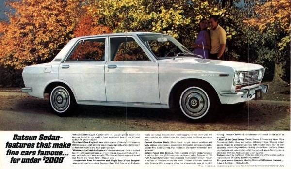 Datsun 510 Wiring Diagrams