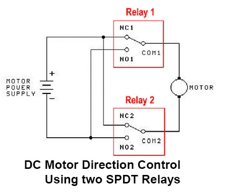 Dc Relay Wiring