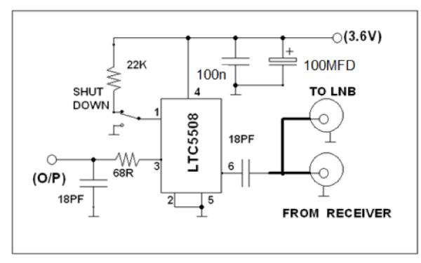 Satellite Tv Receiver Circuit Diagram