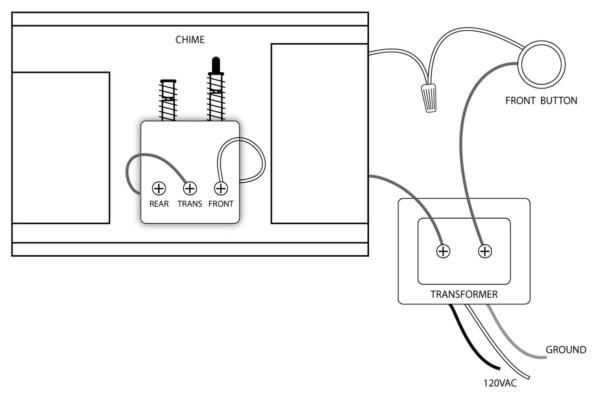 Doorbell Wire Connection Diagram