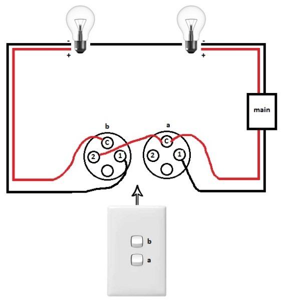 Double Light Switch Wiring Diagram Nz