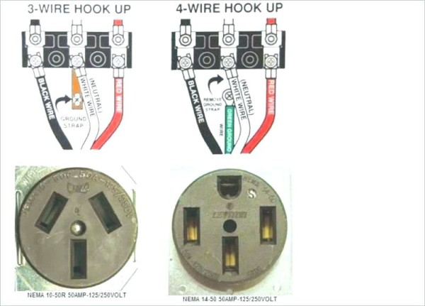Dryer Hook Up Adapter Example Three Prong Dryer Plug Receptacle