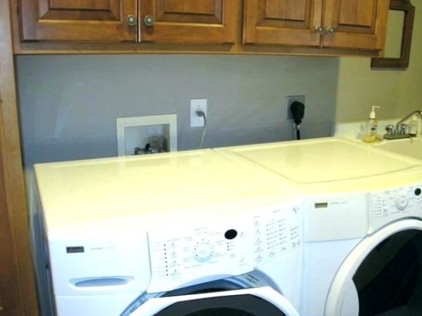 Dryer Outlet Box Washer Dryer Outlet Washer Dryer Hookup Box This