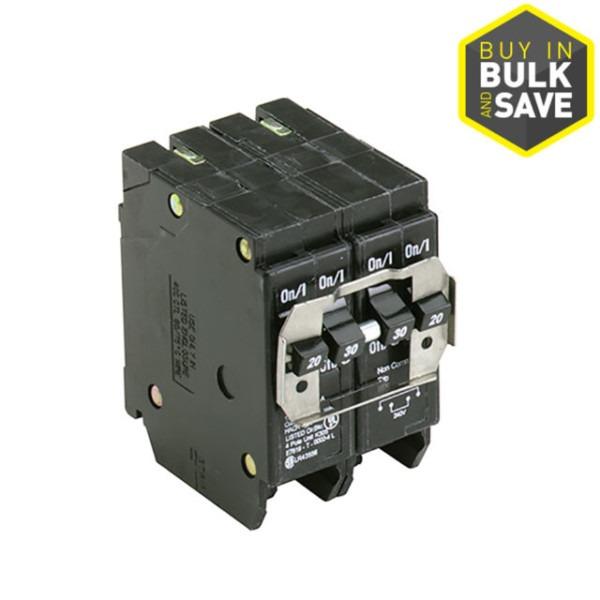 Eaton Bq220230 4 Pole Quad 30 Amp Circuit Breaker 2