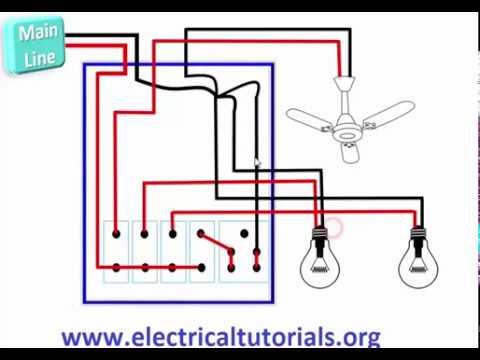 Electrical Installation In A Room ( Urdu & Hindi)