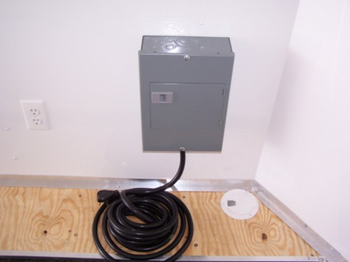 Electrical Package With Breaker Box, Lights & Outlets